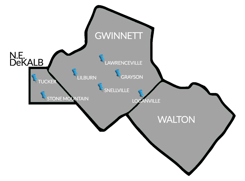 Gwinnett Event Map