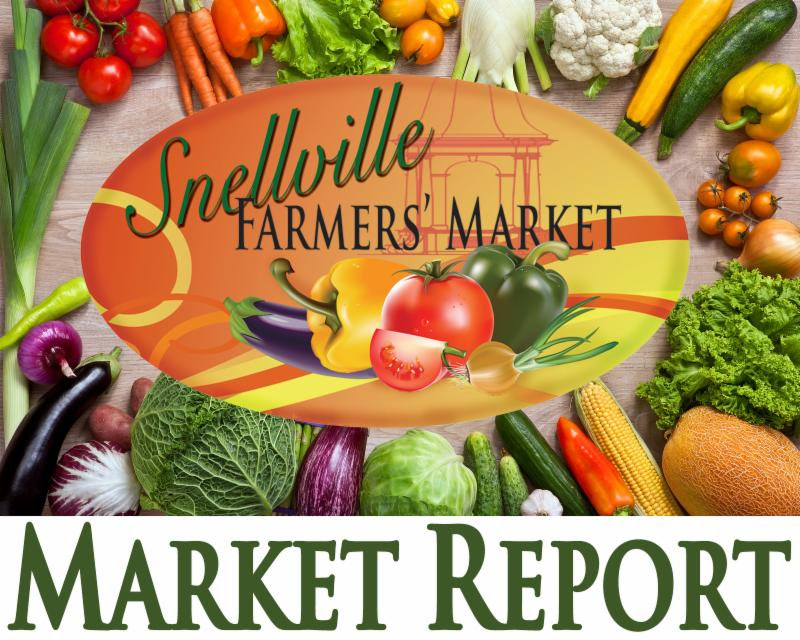 Snellville Farmer's Market – This Saturday!